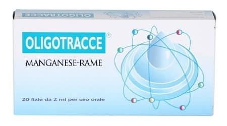 Oligotracce Manganese - Rame