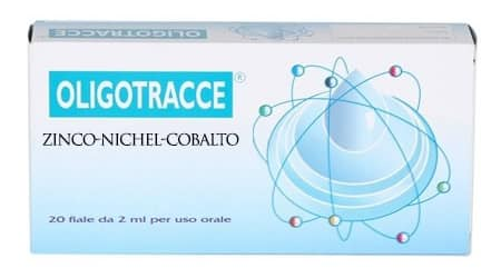 Oligotracce Zinco - Nichel - Cobalto