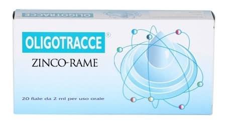 Oligotracce Zinco - Rame