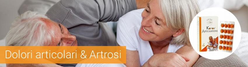 Artrosi e dolori articolari